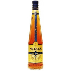 Metaxa 5* Brandy 70CL