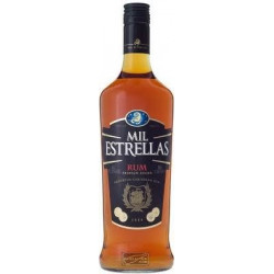 Mil Estrellas Bruine Rum 100CL