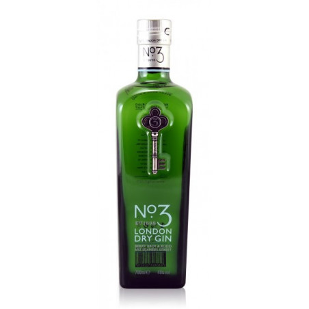 No.3 Dry Gin 70CL
