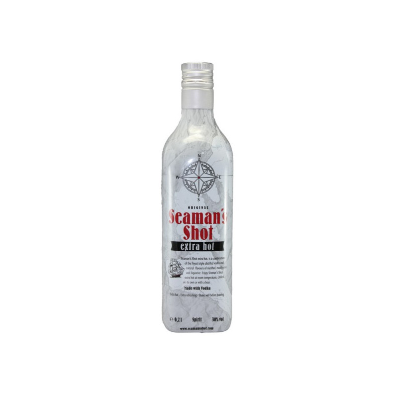 Seaman's Shot Vodka Extra Hot 70CL