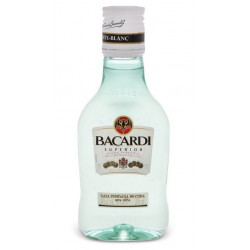 Bacardi Carta Blanca Rum Mini 20CL