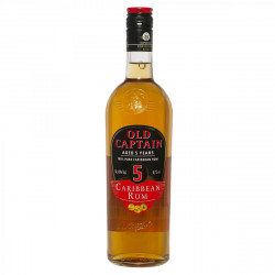 Old Captain Rum 5 Years 70CL