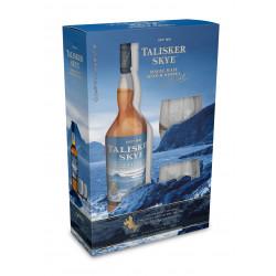 Talisker Skye Whisky 70CL + 2 Glazen