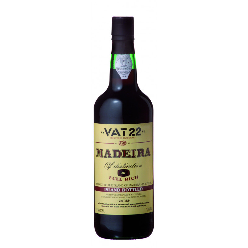 Vat 22 Madeira Island Bottled 75CL
