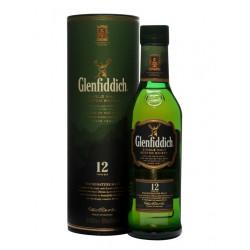 Glenfiddich 12 Years Single Malt Whisky 35CL