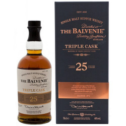 Balvenie Triple Cask 25 Years Single Malt Whisky 70CL