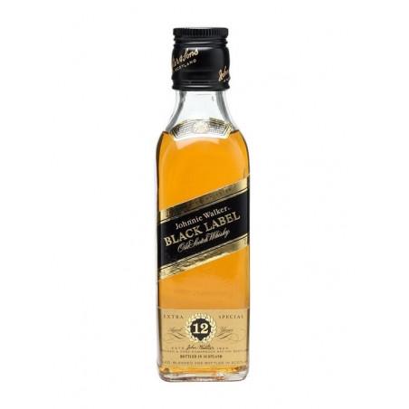 Johnnie Walker Black Whisky Mini 12 x 5CL