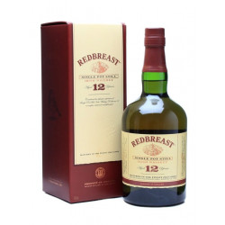 Redbreast Whiskey 12 Years Single Pot Still 70CL