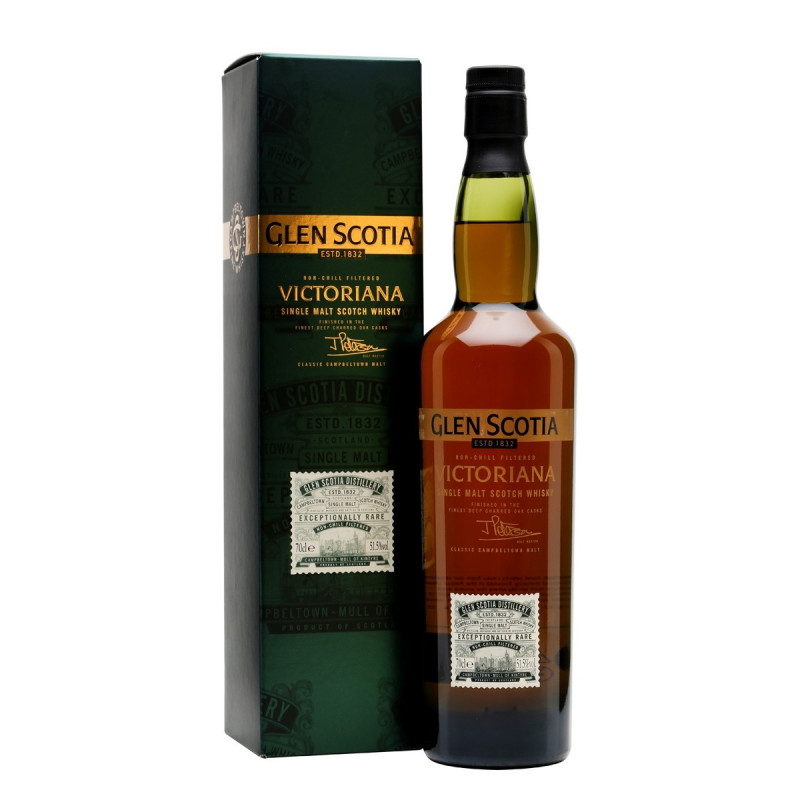 Glen Scotia Victoriana Single Malt Whisky 70CL