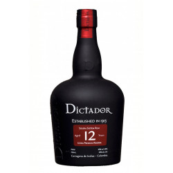 Dictador Rum 12 Years 70CL