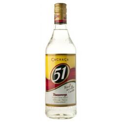 Cachaca 51 Pirassununga Likeur 70CL