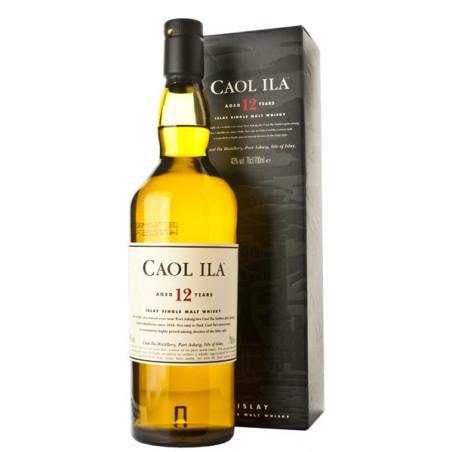Caol Ila 12 Years Single Malt Whisky 70CL