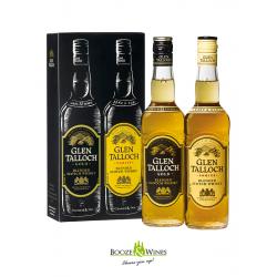 Glen Talloch Gold & Glen Talloch Rare & Old Whisky Giftpack 50CL