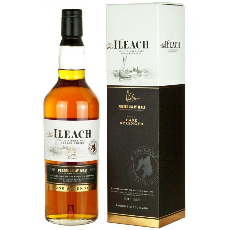 The Ileach Peated Islay Cask Strenght Malt Whisky 70CL