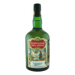 Compagnie Des Indes Jamaica 5 Years Old Blended Rum 70CL