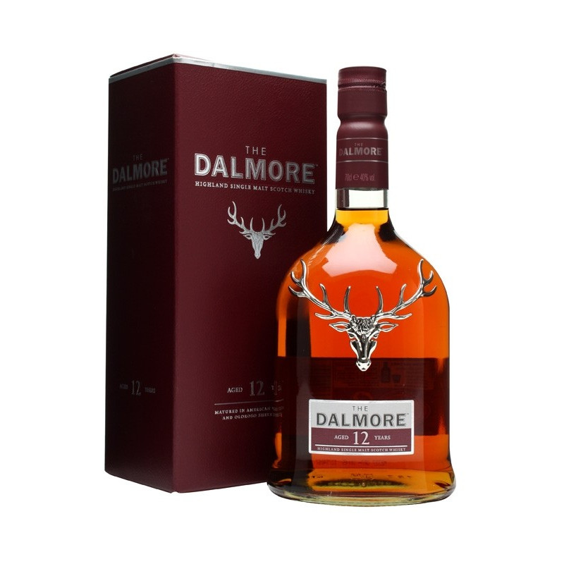 Dalmore 12 Years Single Malt Whisky 70CL