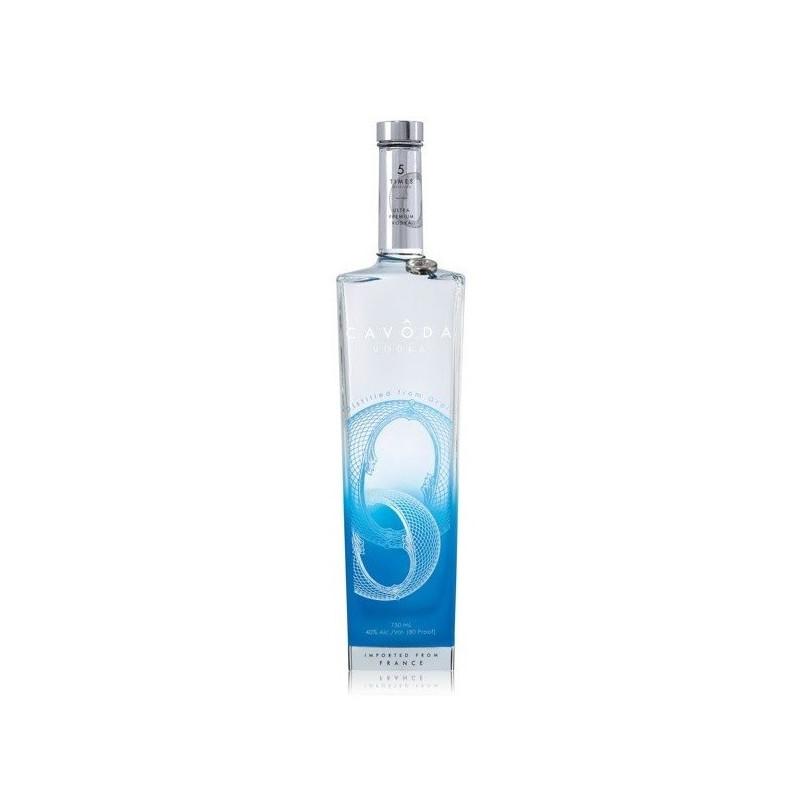 Cavoda Blue Vodka 70CL