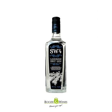 SW4 London Dry Gin 70CL