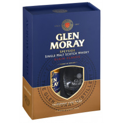 Glen Moray Chardonnay Cask Finish Single Malt Whisky + 2 Glazen