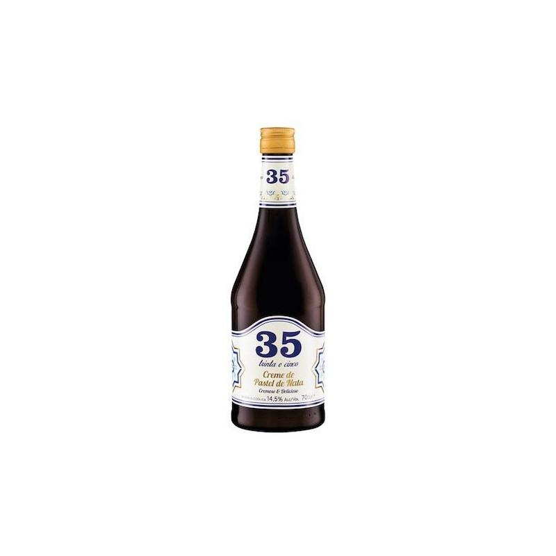 Licor 35 Creme de Pastel de Nata 70CL