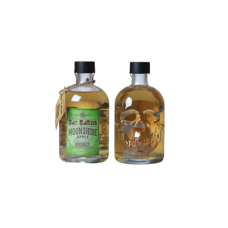 Doc. Collins Apple Moonshine Whiskey 50cl
