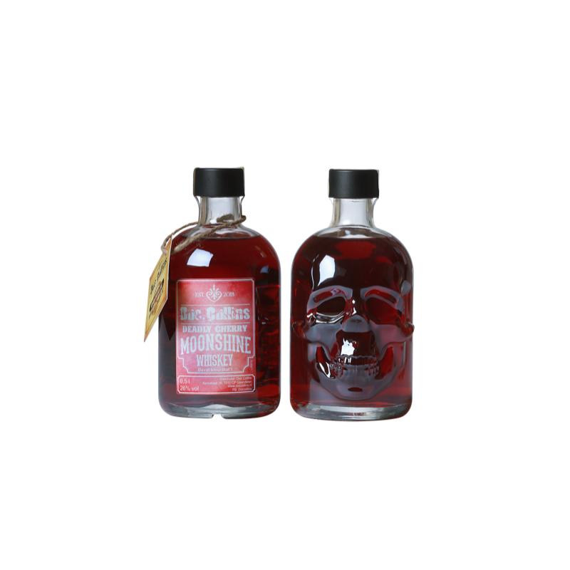 Doc. Collins Deadly Cherry Moonshine Whiskey 50cl