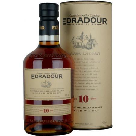 Edradour 10 Years Malt Whisky 70cl