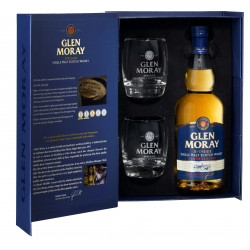 Glen Moray Elgin Single Malt 70cl + 2 Glazen
