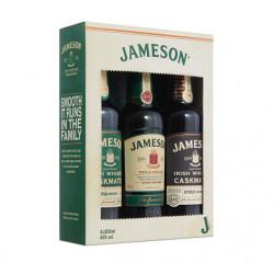 James Whiskey Tripack 3x20cl