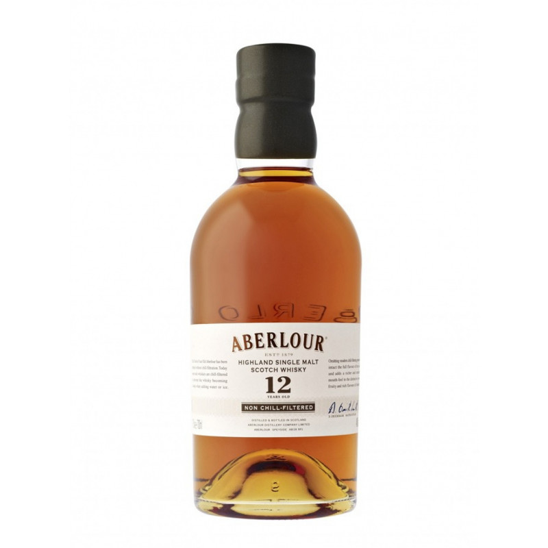 Aberlour 12 Years Unchill-Filtered Single Malt Whisky 70CL