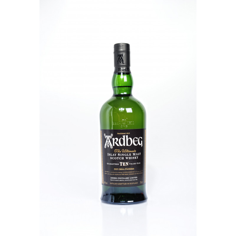 Ardbeg 10 Years Single Malt Whisky 70CL