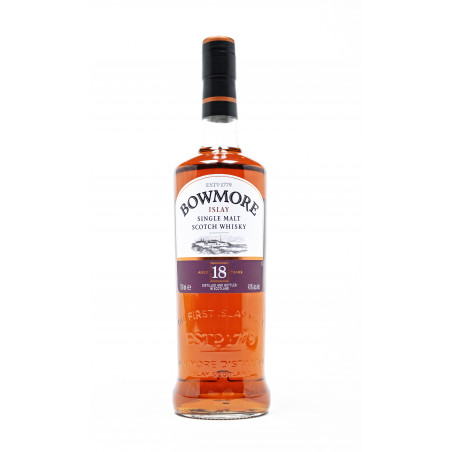 Bowmore 18 Years Single Malt Whisky 70CL