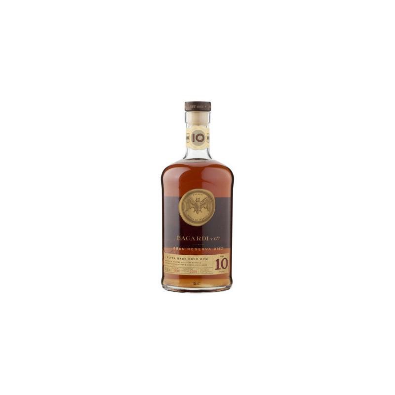 Bacardi Gran Reserva Diez Rum 70cl