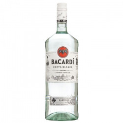 Bacardi Carta Blanca Rum 150CL