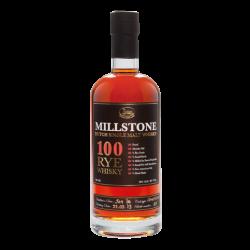Millstone 100 Single Rye Whisky 70CL