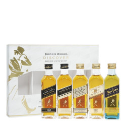 Johnnie Walker Multi Discover GiftBox 5x5cl