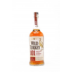 Wild Turkey Whiskey 101 Proof Bourbon 70cl