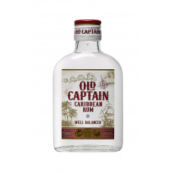 Old Captain Rum Wit Zakflacon 20cl