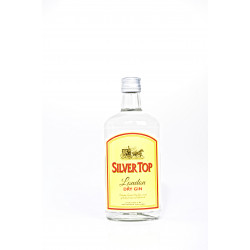 Silver Top Dry Gin 70CL