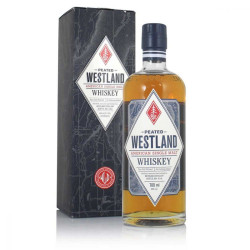 Westland Peated Single Malt Whiskey 70CL