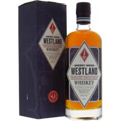 Westland Sherry Wood Single Malt Whiskey 70CL