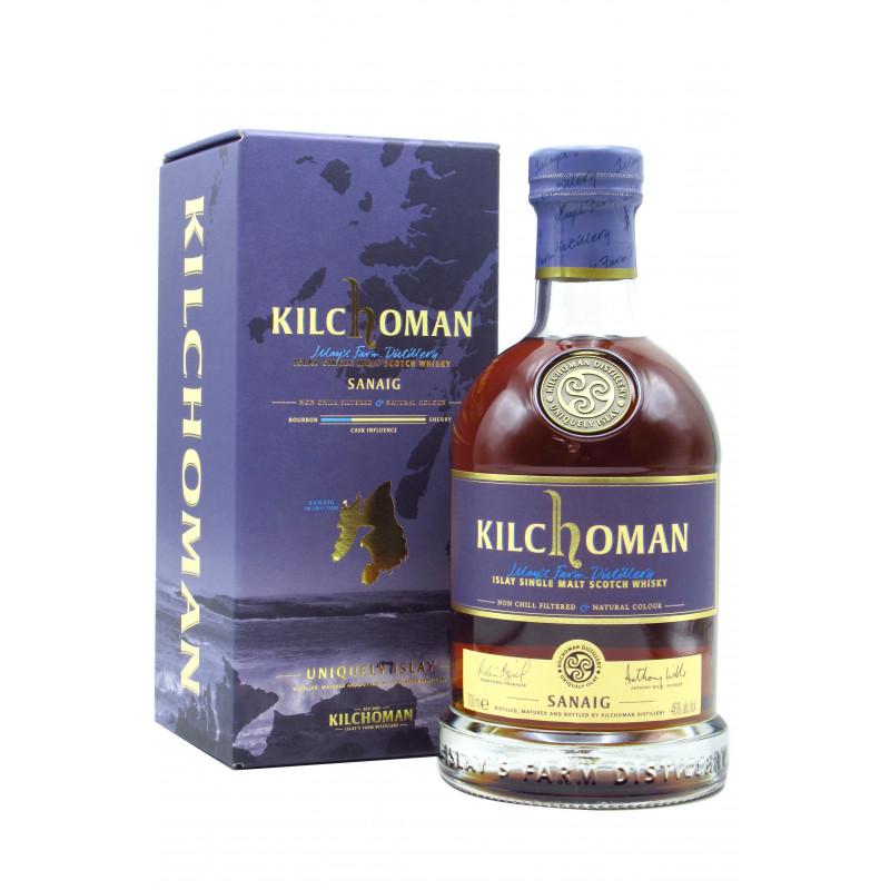 Kilchoman Sanaig Single Malt Whisky 70CL