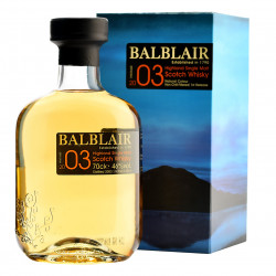 Balblair 2003 1st Release Single Malt Whisky 70CL
