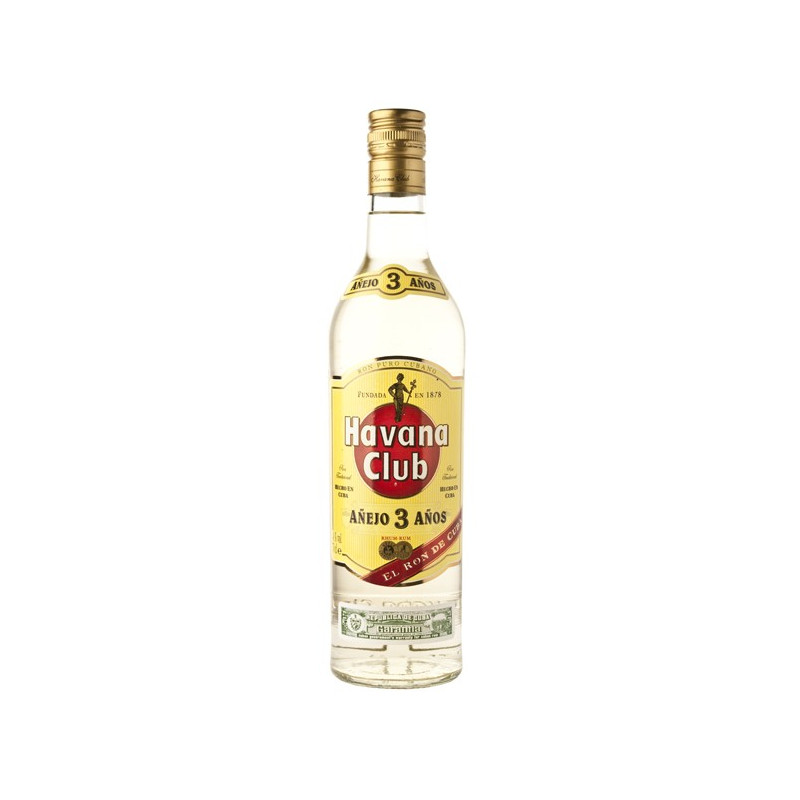 Havana Club Añejo 3 Jaar Rum 70CL