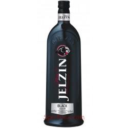 Jelzin Black Vodka likeur 70CL